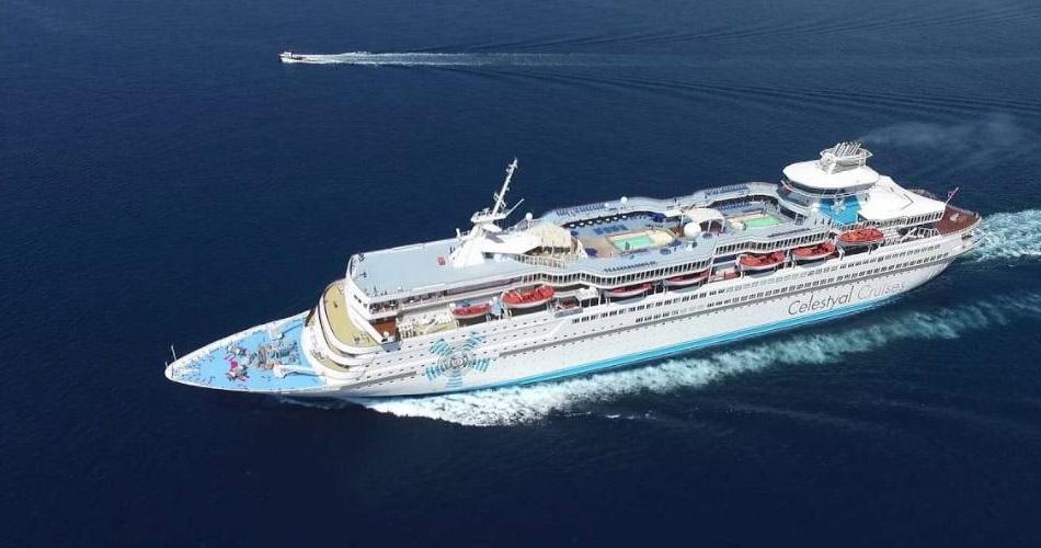 Φωτογραφία από το κρουαζιερόπλοιο Celestyal Olympia